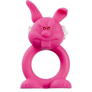 Shots Toys Rude Rabbit Эрекционное виброкольцо в виде зайца