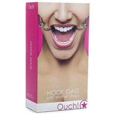 Shots Toys Hook Gag, розовый Расширяющий кляп