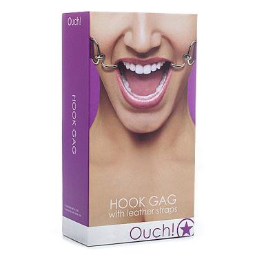 Shots Toys Hook Gag, фиолетовый Расширяющий кляп