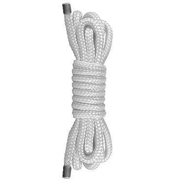 Shots Toys Japanese Mini Rope, белая Веревка для связывания