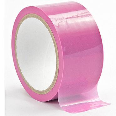 Shots Toys Bondage Tape Light, розовая Лента для бандажа