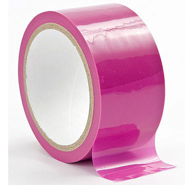 Shots Toys Bondage Tape, розовая Лента для бандажа
