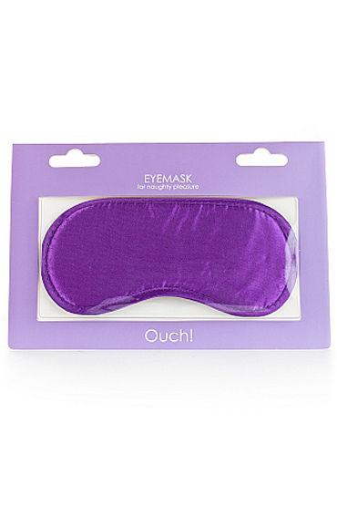 Shots Toys Soft Eyemask, фиолетовая Мягкая маска на глаза