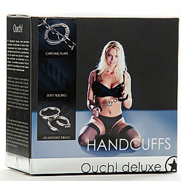 Shots Toys Luxury Handcuffs Оковы на ноги или руки