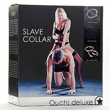 Shots Toys Luxury Slave Collar Ошейник с поводком