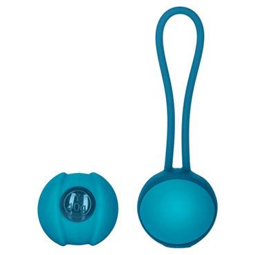 Jopen Key Mini Stella I, синие Вагинальные шарики на гибкой сцепке