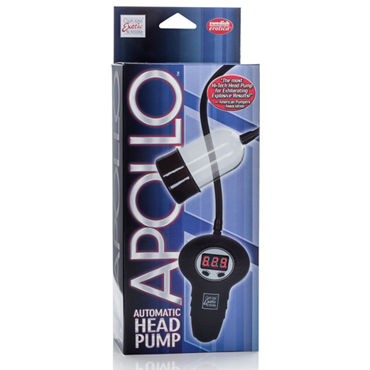 California Exotic Apollo Automatic Head Pump, прозрачная Помпа для стимуляции головки