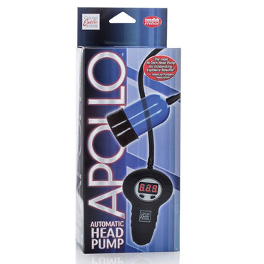 California Exotic Apollo Automatic Head Pump, синяя Помпа для стимуляции головки