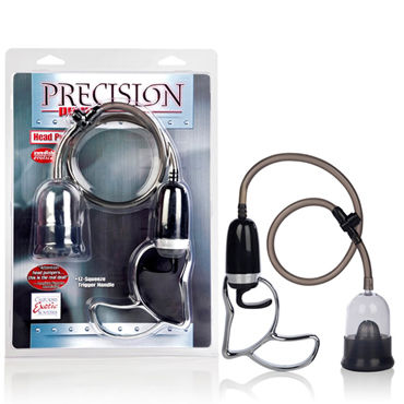 California Exotic Precision Pump Head Pump Помпа для стимуляции головки