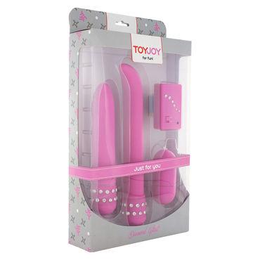Toy Joy Diamond Pink Giftset Набор из трех вибростимуляторов