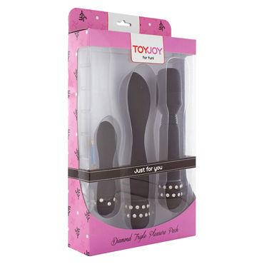 Toy Joy Diamond Triple Pleasure Pack, черный Набор вибраторов