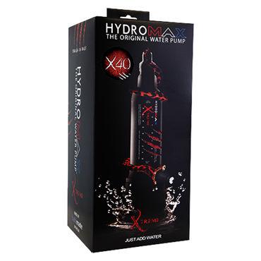 Bathmate Hydromax X40 Xtreme, прозрачный Гидропомпа для увеличения члена с полным комплектом аксессуаров (размер L)