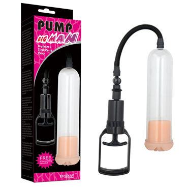 Erokay Beginners Flesh Pussy Вакуумная помпа, вставка в виде вагины