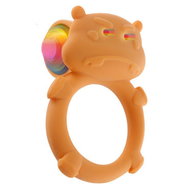 Toy Joy Happy Hippo C-ring Виброкольцо в виде бегемота