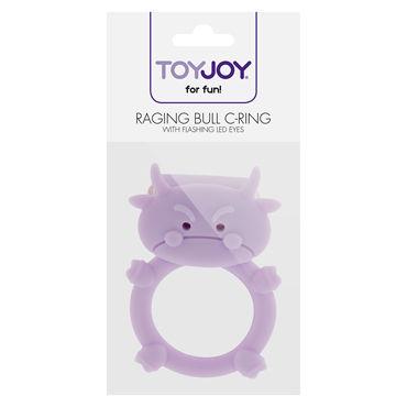 Toy Joy Raging Bull C-ring Виброкольцо в виде быка