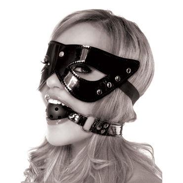 Pipedream Masquerade Mask & Ball Gag Маска на глаза и кляп с отверстиями