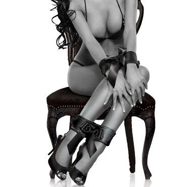 Pipedream Bowtie Cuffs Две пары наручников для фиксации рук и ног