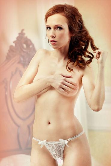 Lola Anna, Ажурные стринги с откровенным вырезом - Размер M/L