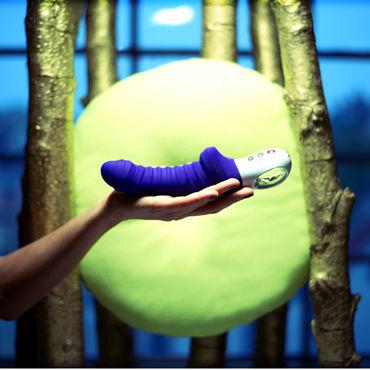 Fun Factory Tiger G5, фиолетовый Перезаряжаемый вибратор со стимуляцией клитора и точки G (+25% мощности)