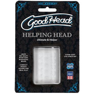 Doc Johnson GoodHead UR3 Helping Head Компактный мастурбатор