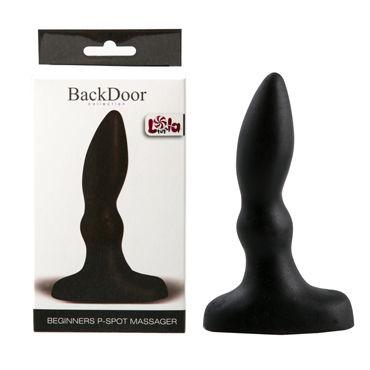 Lola Toys Back Door Beginners P-Spot Massager, черный Стимулятор простаты для начинающих