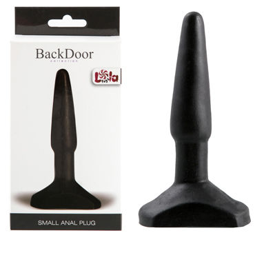 Lola Toys BlackDoor Small Anal Plug, черная Маленькая анальная пробка