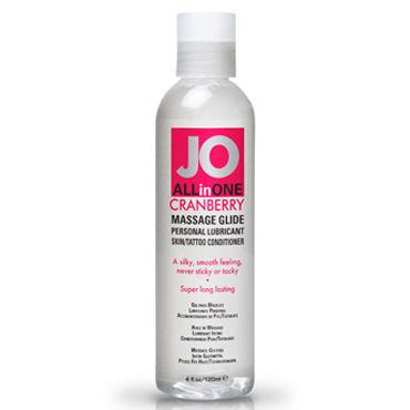 System JO All-In-One Massage Oil Cranberry, 120мл Массажный гель-масло с ароматом клюквы
