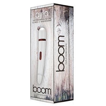 Shots Toys Boom Ayla, белый Классический вибратор