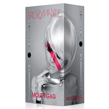 Shots Toys Bad Romance Mouth Gag, бело-черный Мягкий кляп