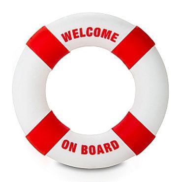 Shots Toys Buoy Welcome On Board Кольцо на пенис