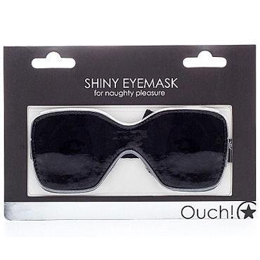 Ouch Shiny Eye mask, черная Маска на глаза