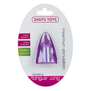 Shots Toys Vibrating Tongue, фиолетовая Стимулятор на палец или язык