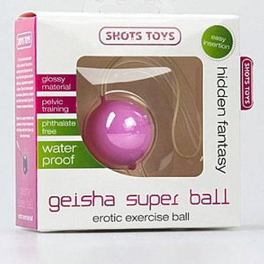 Shots Toys Geisha Super Ball, розовый Вагинальный шарик