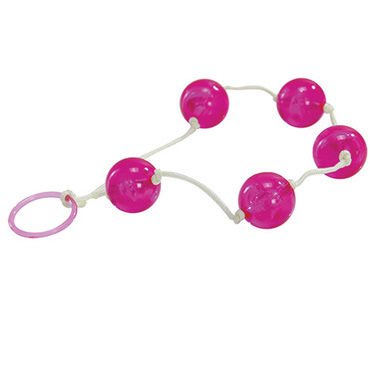 Toyz4lovers Jammy Jelly Anal Love Balls, розовые Анальные шарики
