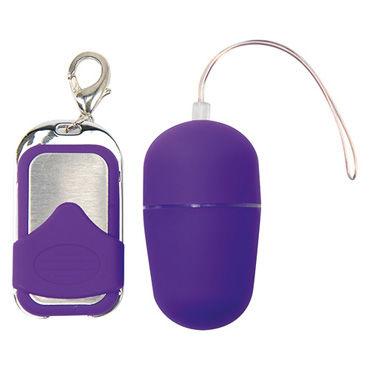 Toyz4lovers Lovely Egg Pleasure Shiver Medium, фиолетовое Виброяйцо с дистанционным управлением