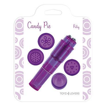 Toyz4lovers Candy Pie Pulsy Министимулятор с насадками