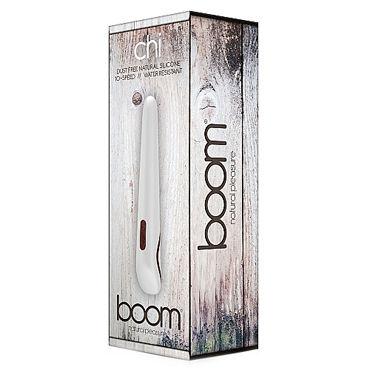 Shots Toys Boom Chi, белый Классический вибратор