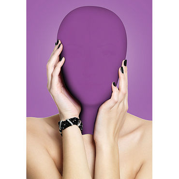 Ouch! Subjugation Mask, фиолетовая Маска на лицо