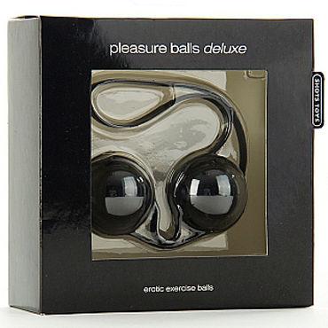 Shots Toys Pleasure Balls Deluxe, черные Вагинальные шарики