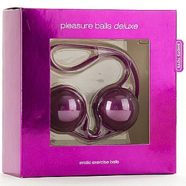 Shots Toys Pleasure Balls Deluxe, фиолетовые Вагинальные шарики