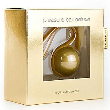 Shots Toys Pleasure Ball Deluxe, золотой Вагинальный шарик