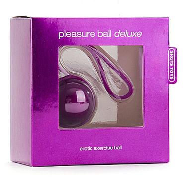 Shots Toys Pleasure Ball Deluxe, фиолетовый Вагинальный шарик