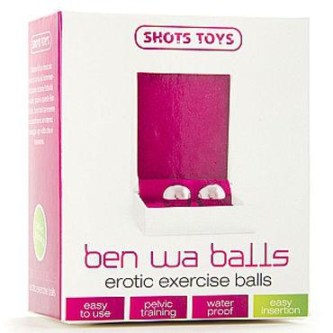 Shots Toys Ben Wa Balls, серебристые Вагинальные шарики