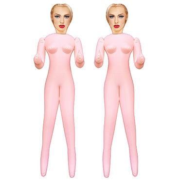 Shots Toys Virgin Twins Две надувные куклы