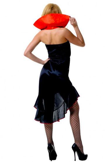 Le Frivole Готическая Вампирша Красивое платье с воротником-стоечкой