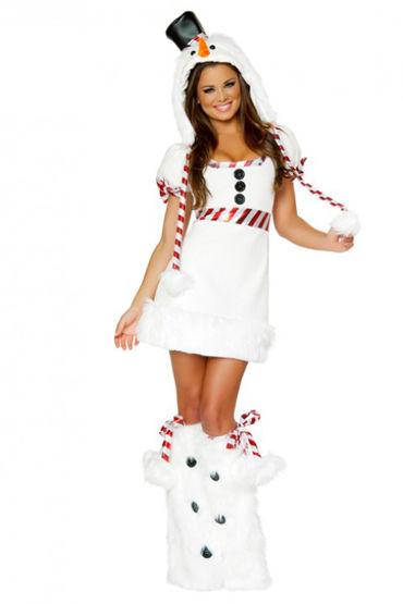 Le Frivole Снеговик Платье, гетры и головной убор