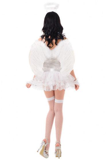 Le Frivole Волшебный ангел Платье, перчатки, головной убор, чулки