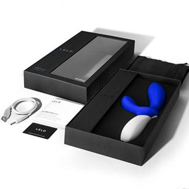 Lelo Loki Wave, синий Перезаряжаемый стимулятор простаты с подвижной головкой и стимуляцией промежности