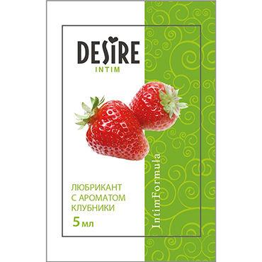 Desire Intim с ароматом клубники, 5 мл Лубрикант на водной основе