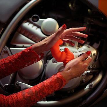 Fun Factory Moody G5, оранжевый Перезаряжаемый вибратор с контролем глубины проникновения